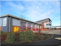 SO8555 : Worcester Fire Station by Roy Hughes