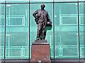 SJ8096 : Sir Matt Busby Statue, Old Trafford by David Dixon