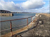 J3829 : The Mouth of the Harbour at Newcastle by Eric Jones