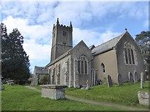 SX7383 : North Bovey church by David Smith