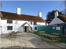SX7483 : The Ring of Bells inn, North Bovey by David Smith