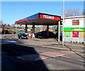 ST2990 : Texaco filling station, Monnow Way, Bettws, Newport by Jaggery