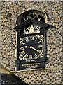TG2309 : WW2 Memorial clock on St Clement Colgate church by Adrian S Pye