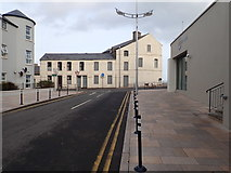 J3730 : Boarded up dwellings at the corner of Bryansford Road and the Central Promenade by Eric Jones