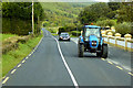 C3741 : Tractor on the Road at Ballintrieve by David Dixon
