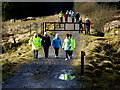 H4840 : First Omagh Church Walking Group, Jenkin Forest by Kenneth  Allen