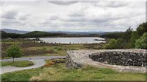 NN7754 : Loch Kinardochy from Tomphubil Limekiln by Alan Walker