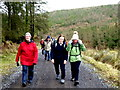 H4840 : First Omagh Church Walking Group, Mullaghfad by Kenneth  Allen