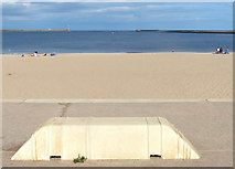NZ3668 : Herd Sand at South Shields by Mat Fascione