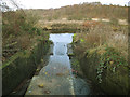 SE3530 : Sluice outfall to the River Aire by Stephen Craven