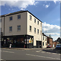 SP3166 : Convenience store, corner of Warwick Street and New Brook Street, Royal Leamington Spa by Robin Stott