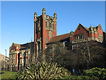 NZ2465 : The Armstrong Building, University of Newcastle upon Tyne, Queen Victoria Road, NE1 by Mike Quinn