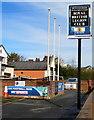 SJ3061 : Penyffordd & Penymynydd Royal British Legion Club name sign, Flintshire by Jaggery