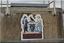 SX4358 : Entering Cornwall, Tamar Bridge by N Chadwick