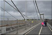 SX4358 : Crossing the Tamar Bridge by N Chadwick