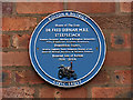 SD7208 : Civic Trust Heritage Plaque at Fred's House by David Dixon