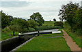 SO8957 : Canal east of Tibberton in Worcestershire by Roger  Kidd