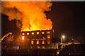 SK3516 : Holywell Mill ON FIRE, Ashby by Oliver Mills