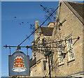 TL1689 : The Bell Inn at Stilton by M J Richardson