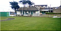 J3731 : The Newcastle Bowling Club House in Islands Park by Eric Jones
