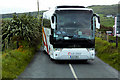 C4355 : CIE Tours Coach on the Wild Atlantic Way near Sheskin by David Dixon
