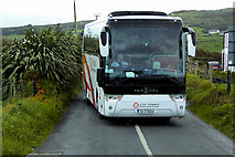 C4355 : CIE Tours Coach on the Wild Atlantic Way near Sheskin by David Dixon