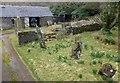 NR8466 : Escart stone row by Sandy Gerrard