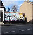 SJ2977 : Bicentenary mural, Brook Street, Neston by Jaggery