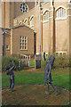 SU9850 : Children's garden, Guildford Cathedral by Stephen McKay