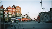 TM1714 : Town Square, from Pier Avenue by Duncan Graham