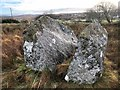 G7392 : Split erratic boulder by Donal