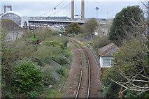 SX4358 : Cornish Main Line by N Chadwick