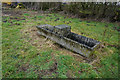 SE5355 : Stone trough at Woodhouse Farm by Ian S