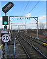 SP0889 : Junction beyond the NW end of Aston railway station, Birmingham by Jaggery
