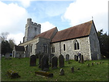 TR0149 : Church of St. Cosmas & St. Damian, Challock by pam fray