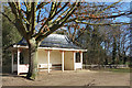 TQ1773 : Shelter in Marble Hill Park by Des Blenkinsopp
