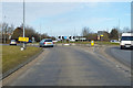 TL6368 : A142 roundabout by Robin Webster