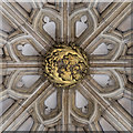 SK9771 : Central tower roof boss, Lincoln Cathedral by Julian P Guffogg