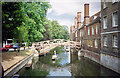 TL4458 : The Mathematical Bridge and River Cam, Cambridge by Jeff Buck