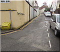 ST5393 : Steep Street, Chepstow by Jaggery