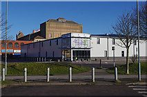 SD4364 : Trampoline centre, Morecambe by Ian Taylor