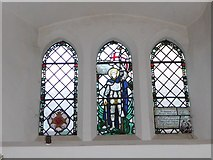 TQ2160 : St Martin of Tours Epsom: stained glass window (d) by Basher Eyre