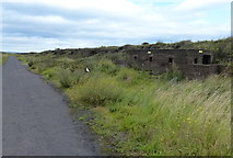 NZ5626 : WWII pillbox next to the former Teesside Steelworks by Mat Fascione