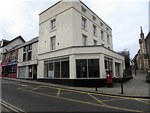 ST5393 : Vacant shop on a town centre corner, Chepstow by Jaggery