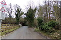TL1118 : Copt Hall Road, New Mill End by Adrian Cable