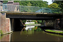 SO8275 : Round Hill Bridge in Kidderminster, Worcestershire by Roger  Kidd