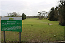 NS3319 : Belleisle Park Golf Course by Billy McCrorie