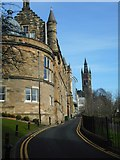 NS5666 : West Medical Building, University of Glasgow by Richard Sutcliffe