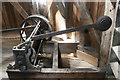 TL4462 : Impington Mill - sack hoist by Chris Allen
