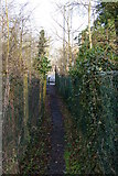 TQ1687 : Public footpath 60 dropping to Watford Road by Christopher Hilton